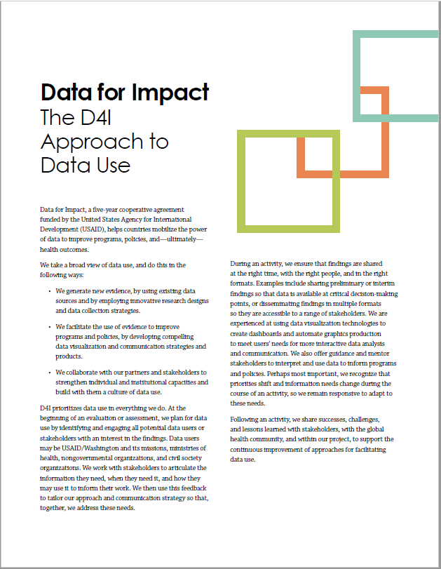 Data for Impact Starts with High-Quality Data