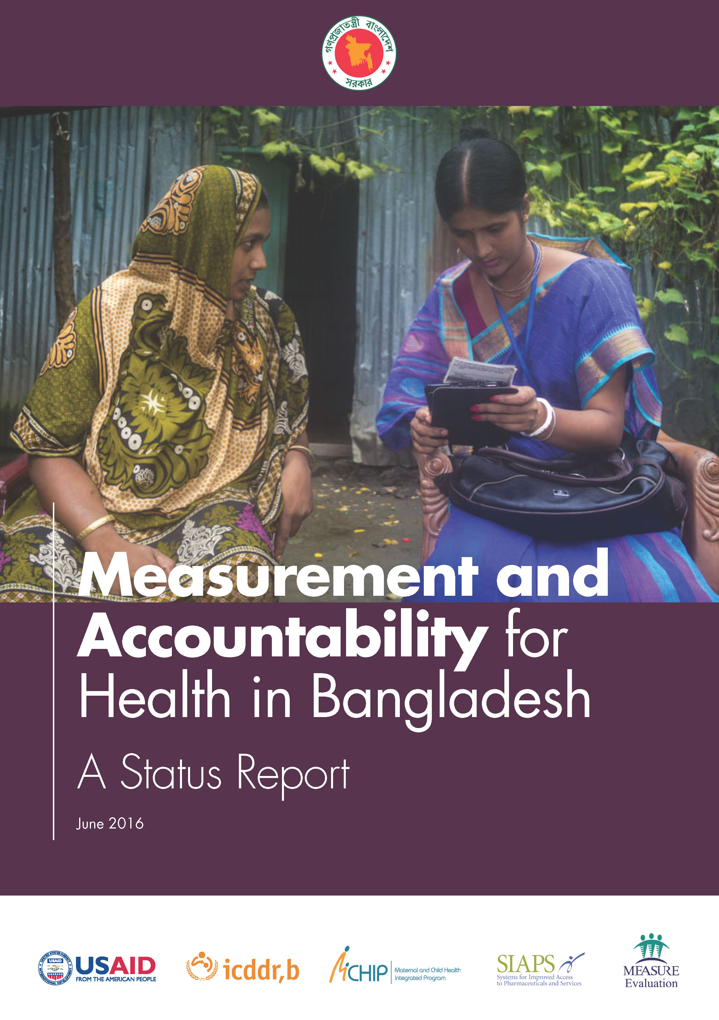 Measurement and Accountability for Health in Bangladesh: A Status Report