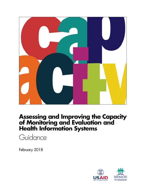 Assessing the Capacity of Monitoring and Evaluation and Health Information Systems: Guidance