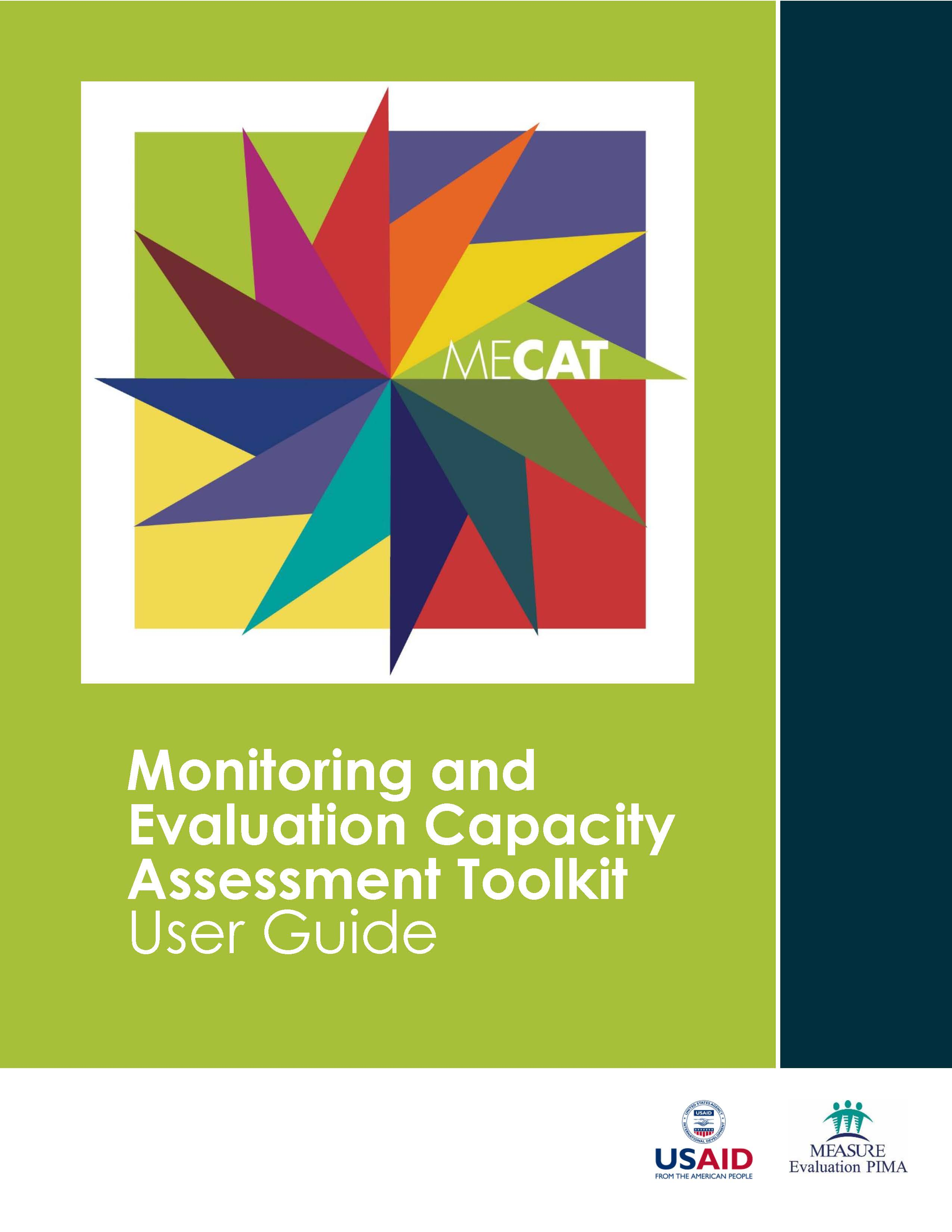 Monitoring and Evaluation Capacity Assessment Toolkit: User Guide
