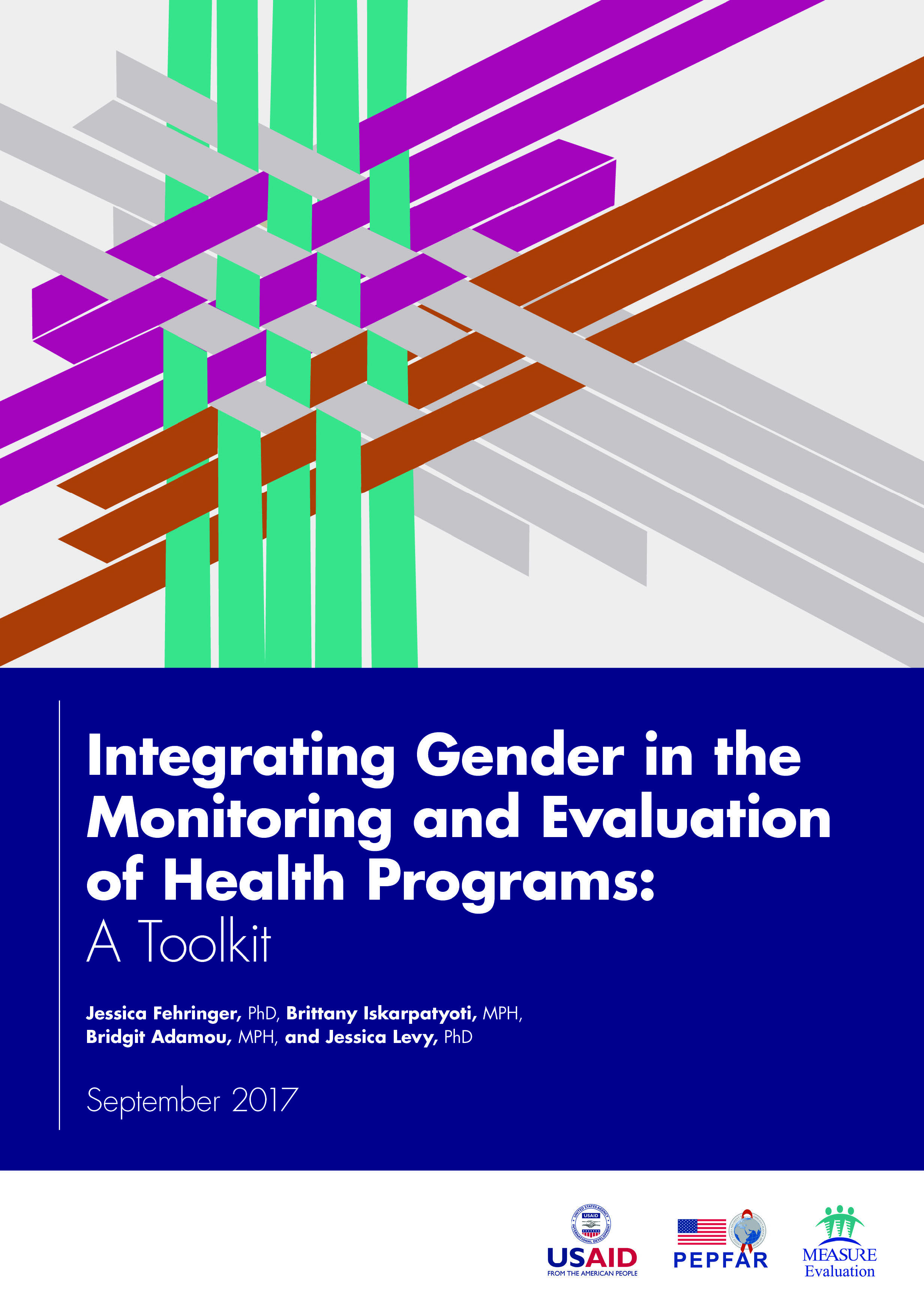 Integrating Gender in the Monitoring and Evaluation of Health Programs: A Toolkit