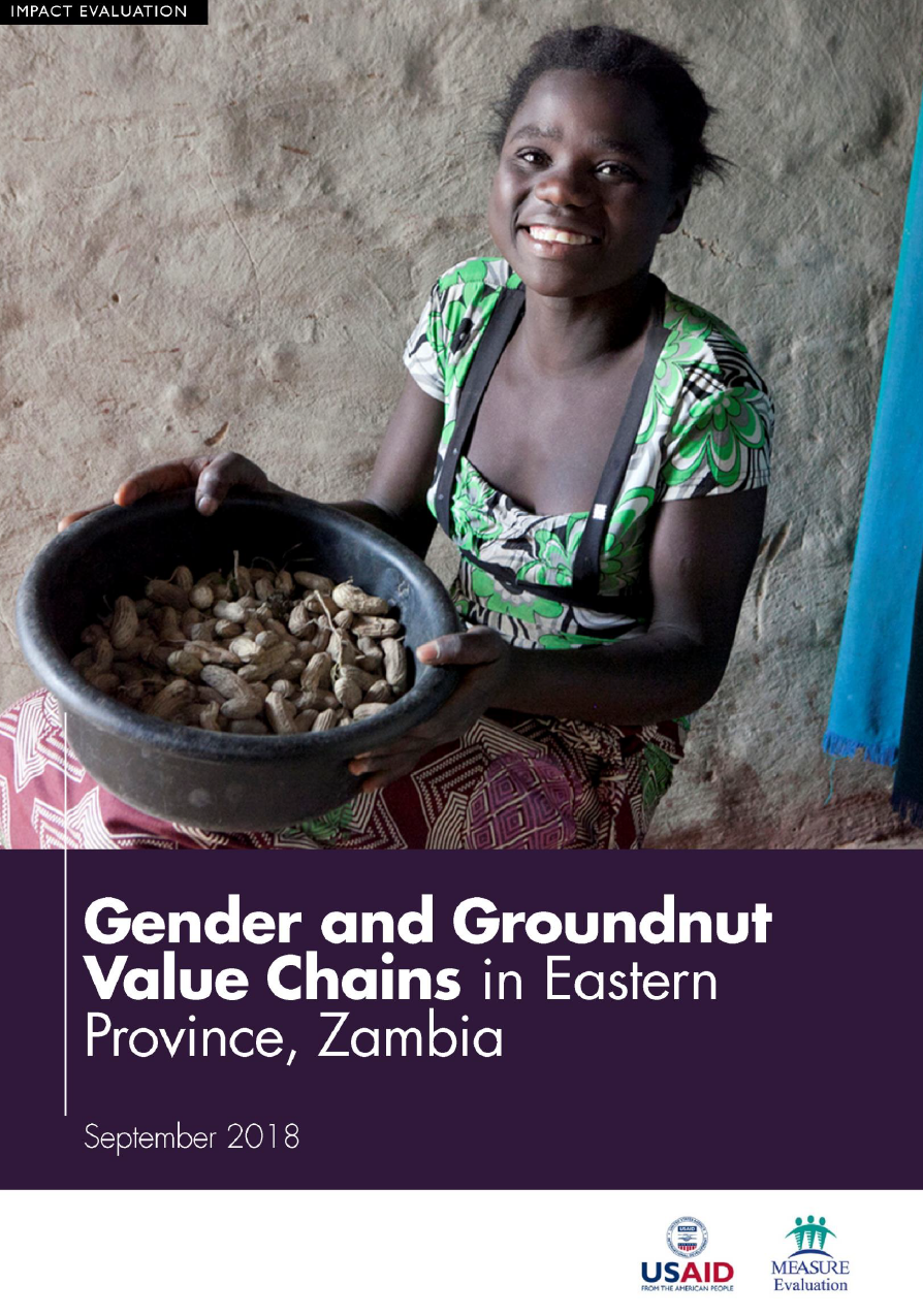 Gender and Groundnut Value Chains in Eastern Province