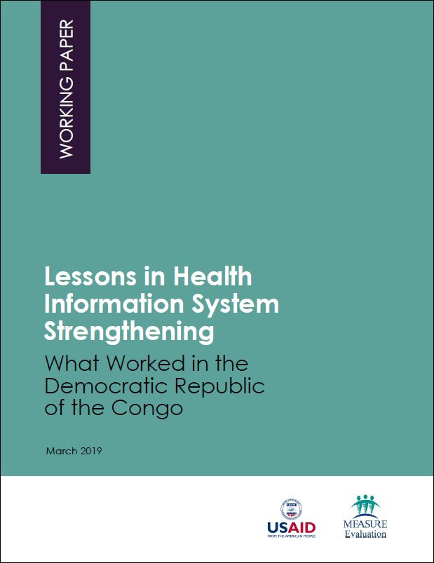 Lessons in Health Information System Strengthening: What Worked in the Democratic Republic of the Congo