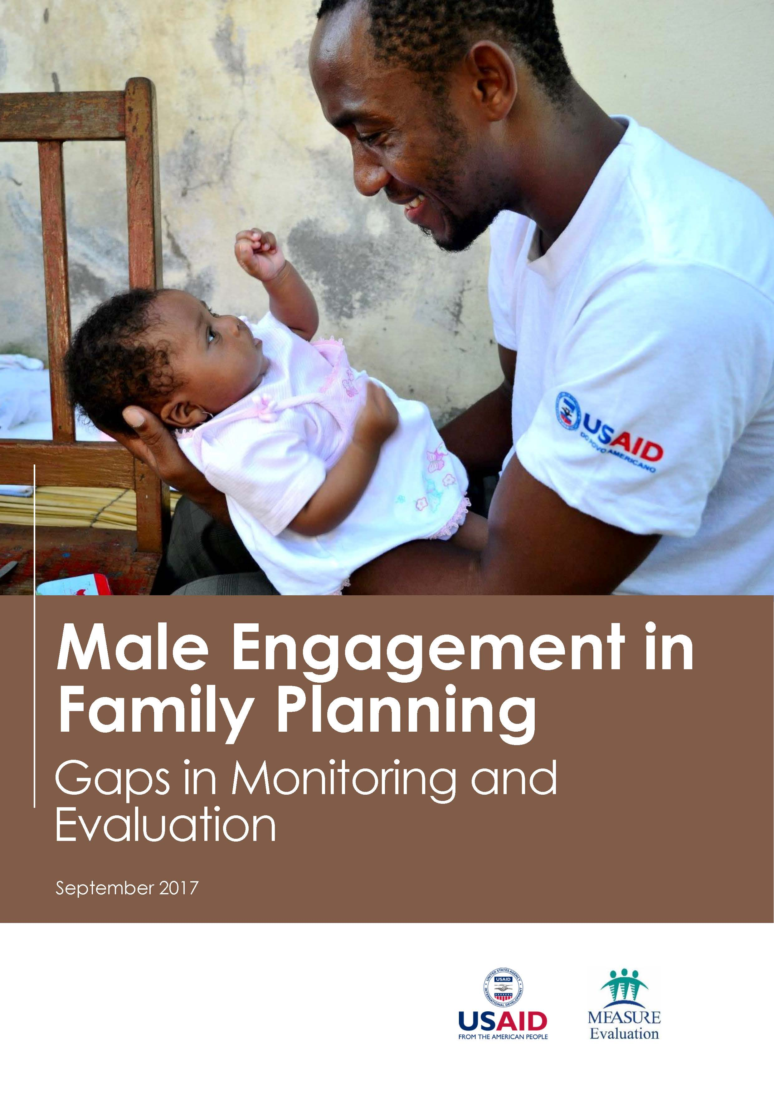Male Engagement in Family Planning: Gaps in Monitoring and Evaluation