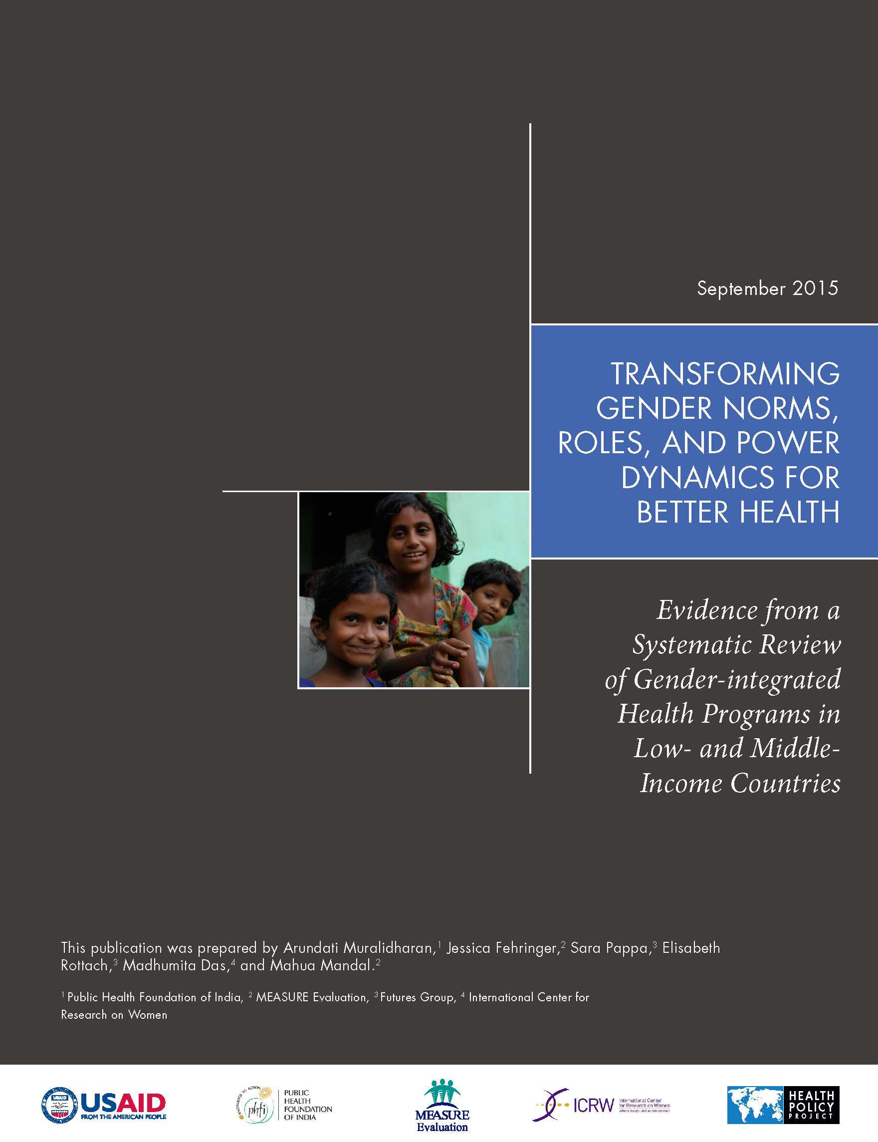 Transforming Gender Norms