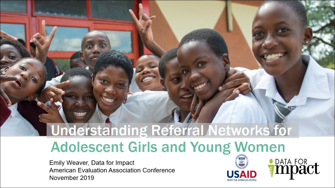 Slides on Understanding Referral Networks for Adolescent Girls and Young Women