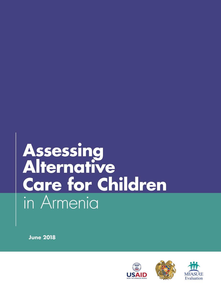 Assessing Alternative Care for Children in Armenia
