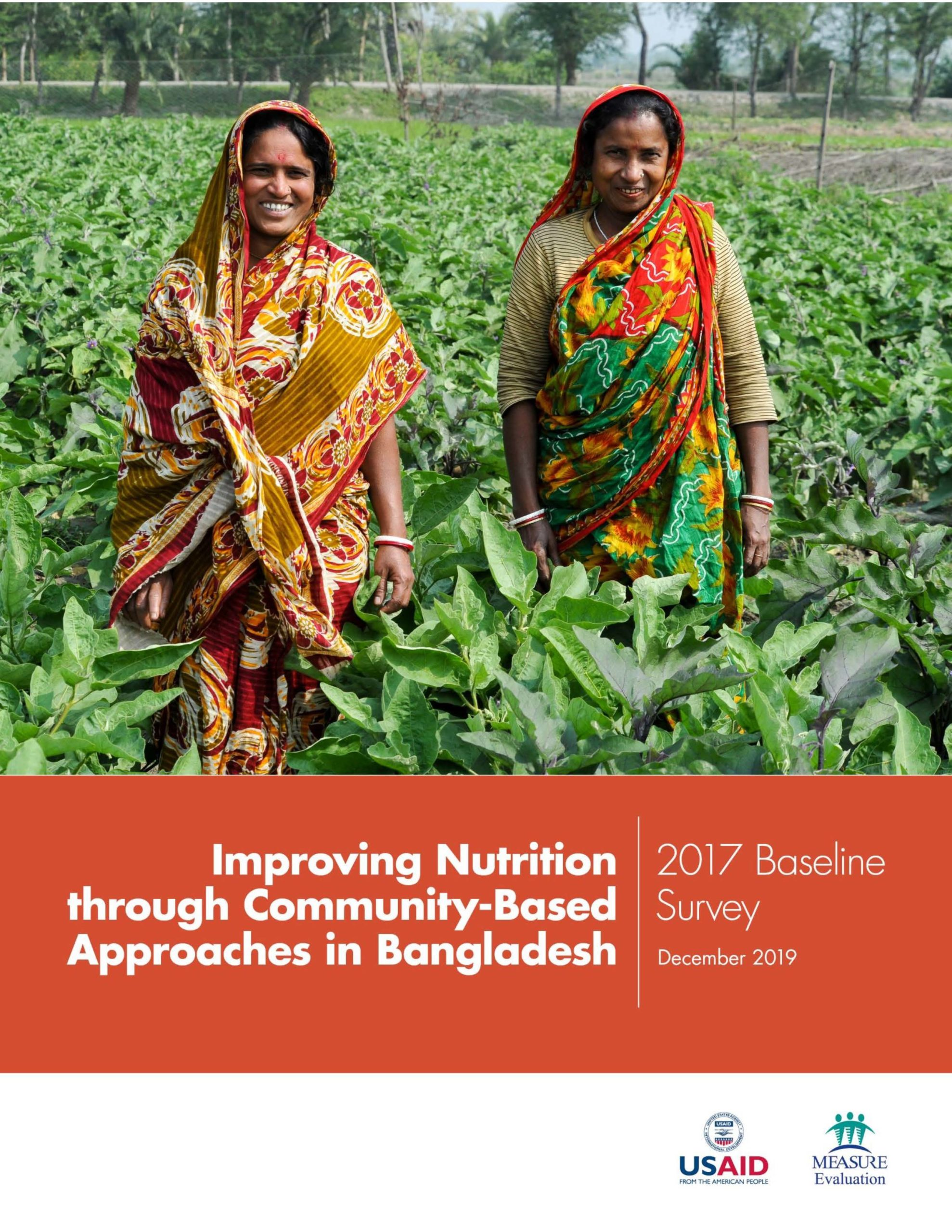 Improving Nutrition through Community-Based Approaches in Bangladesh