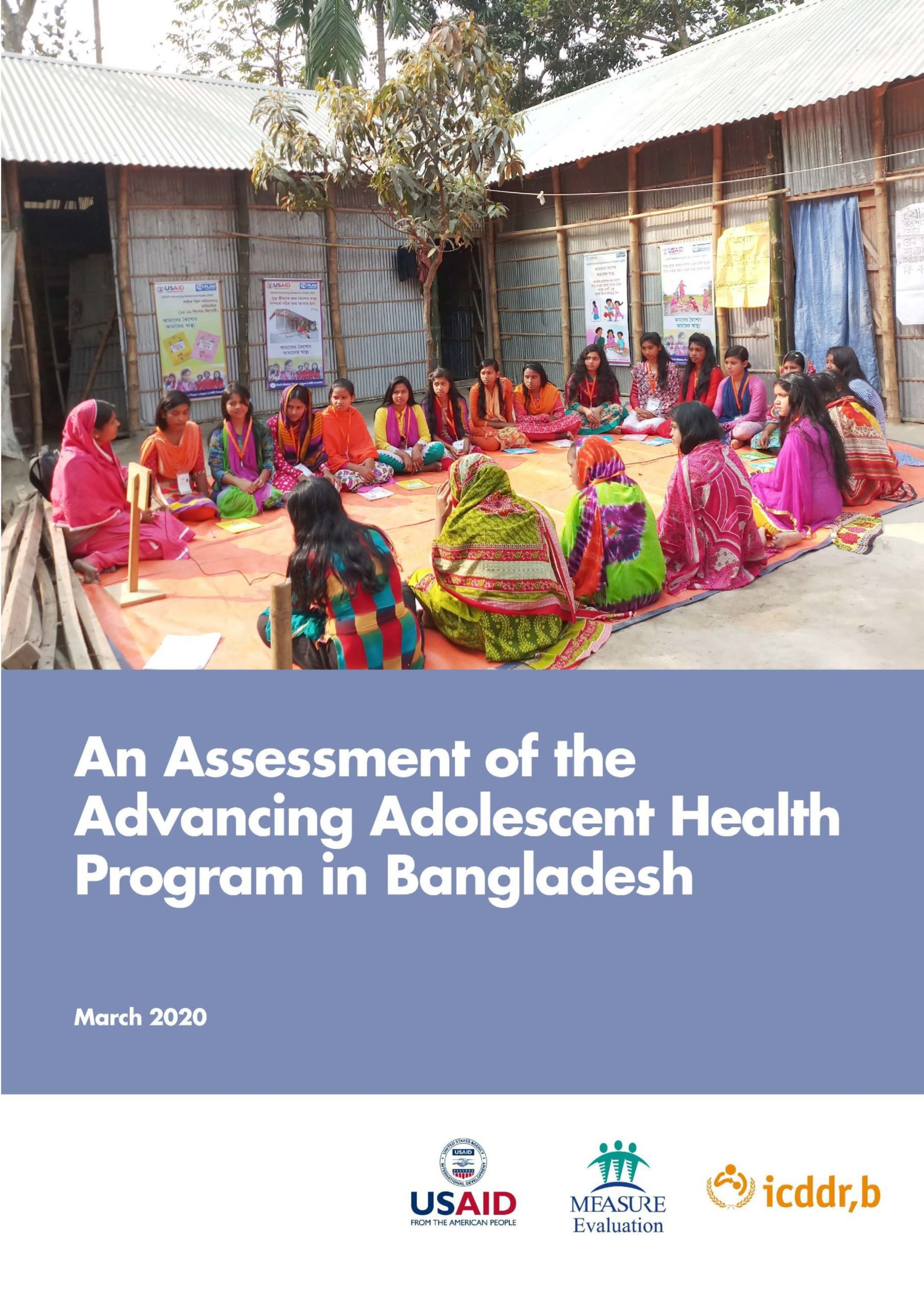 An Assessment of the Advancing Adolescent Health Program in Bangladesh