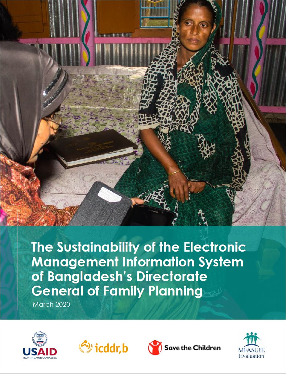 The Sustainability of the Electronic Management Information System of Bangladeshs Directorate General of Family Planning