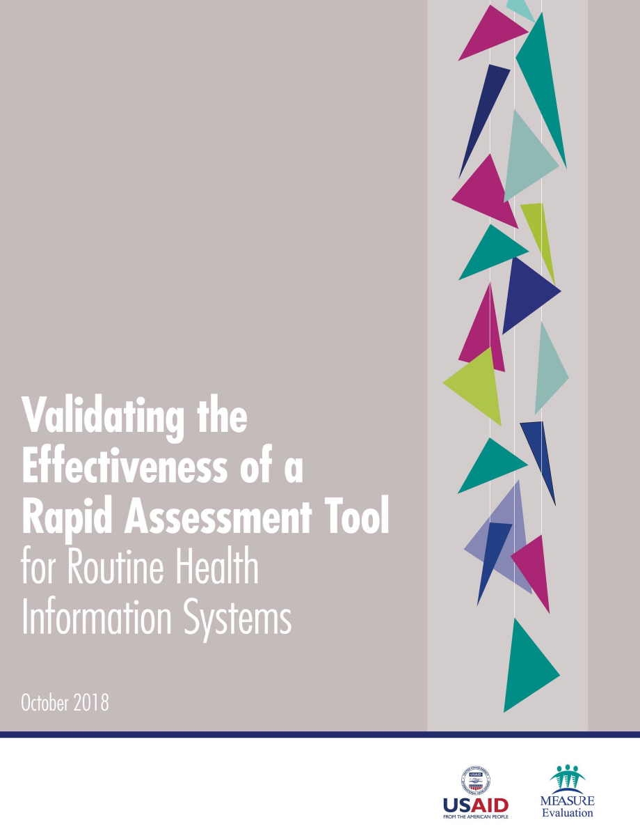 Validating the Effectiveness of a Rapid Assessment Tool for Routine Health Information Systems